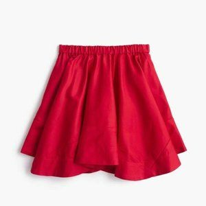 Crewcuts Girls Pull On Handkerchief Red Skirt
